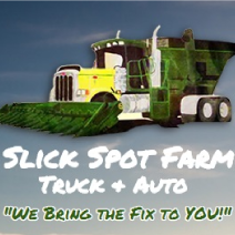 Slick Spot Farm Truck and Auto logo